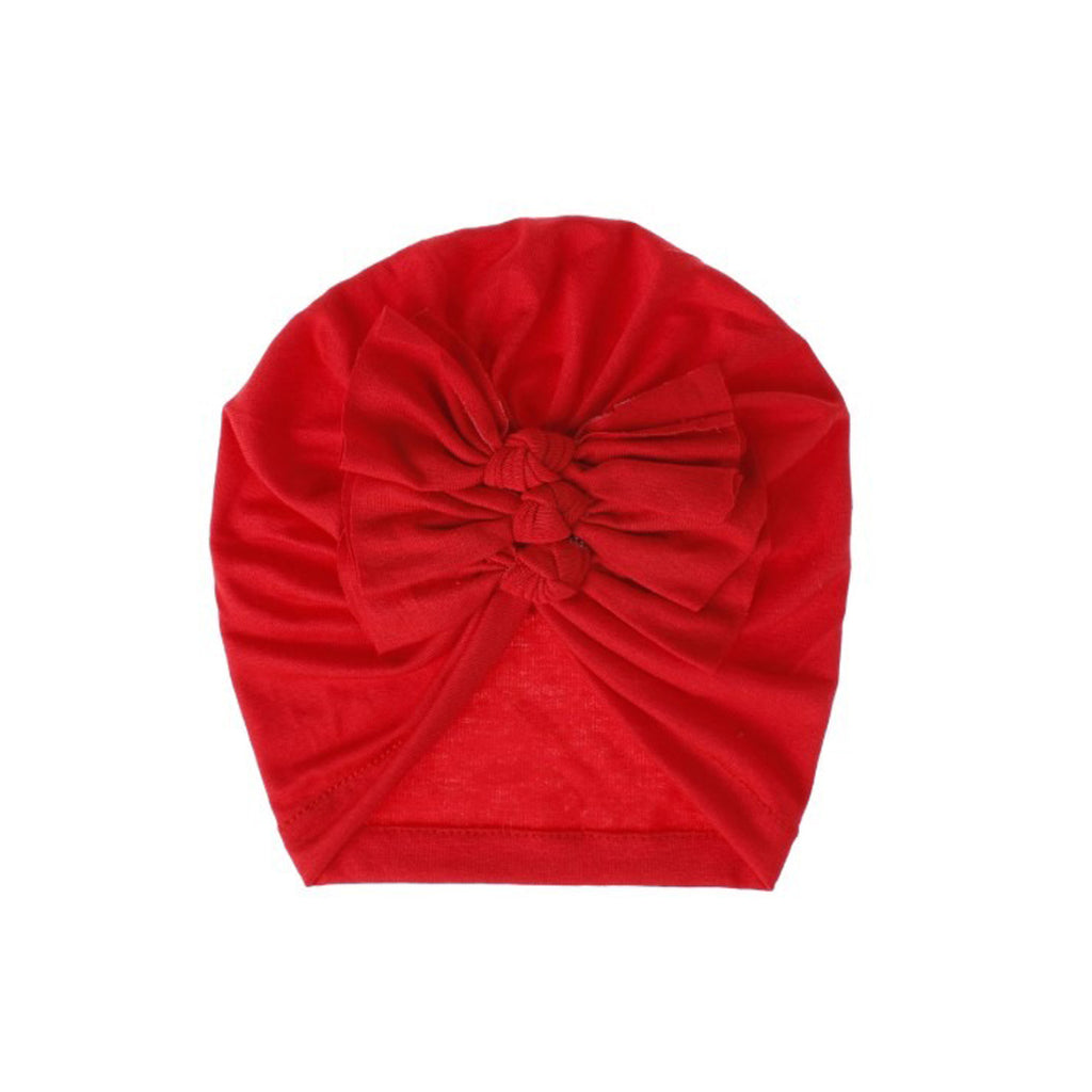 Baby Triple Knot Turban — Strawberry