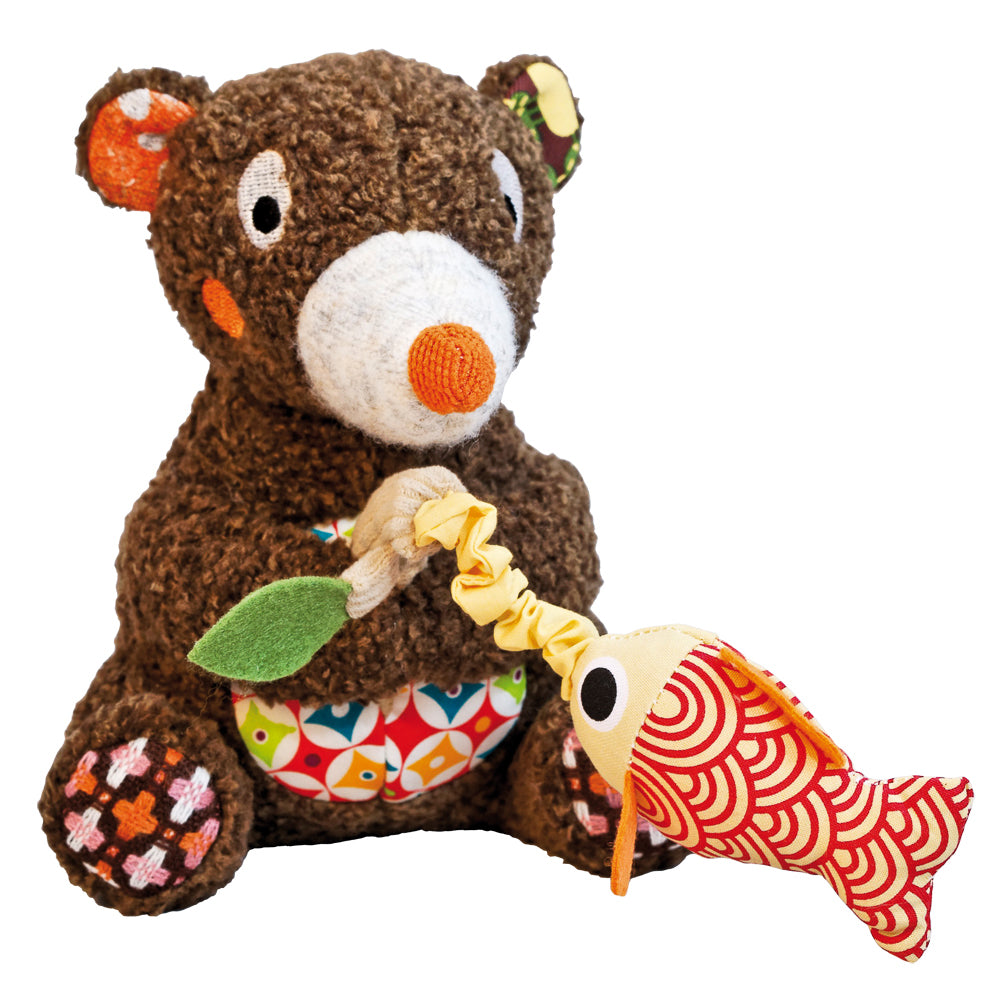 Tizours The Musical Fishing Bear — Woodours by Ebulobo