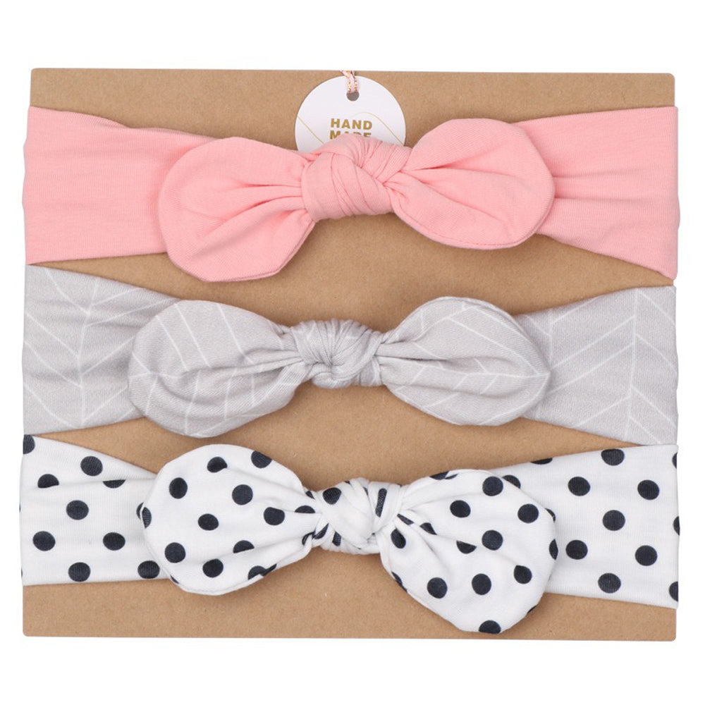 Baby Headband 3pc Set — Set D