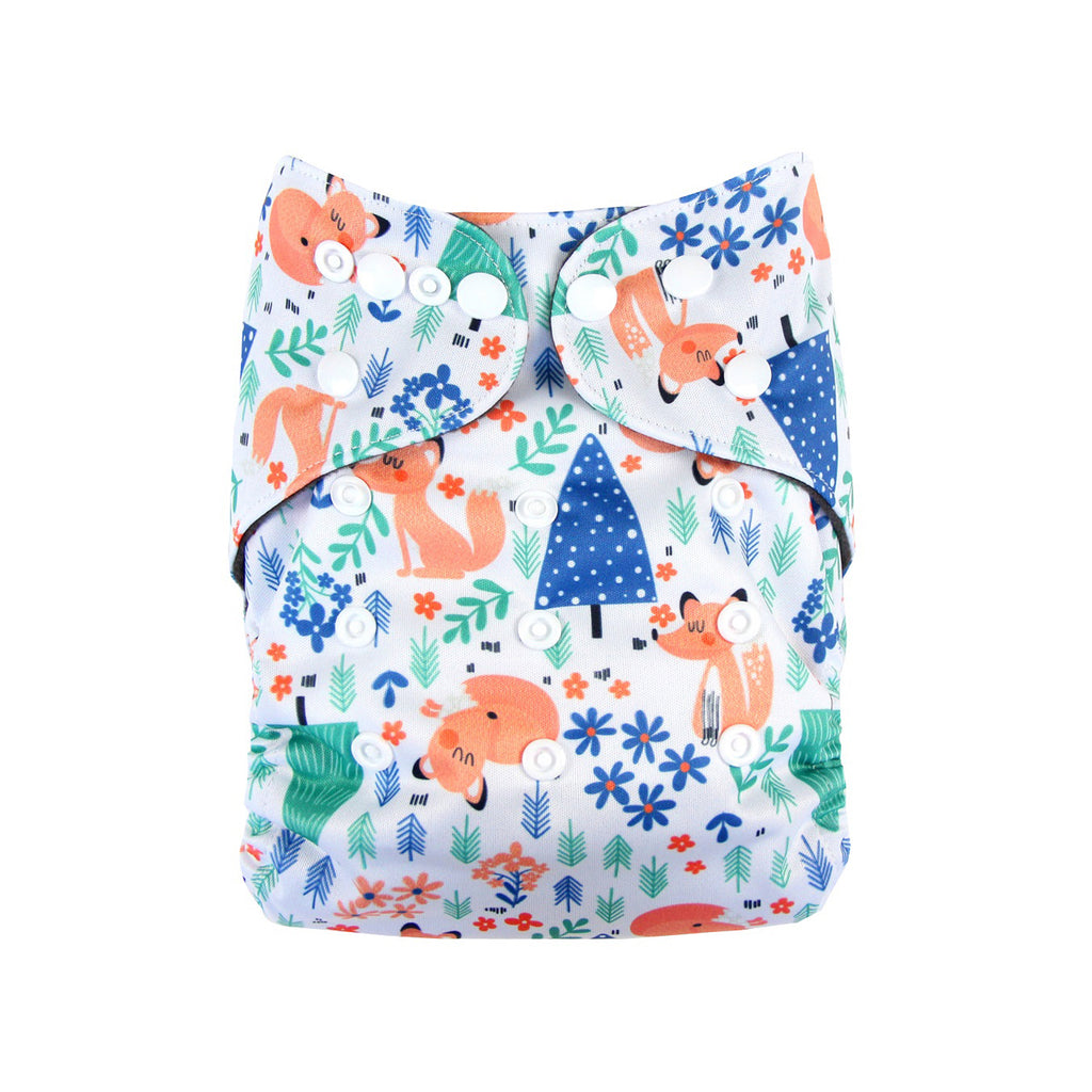 Modern Reusable Cloth Nappy — Fabulous Mr. Fox