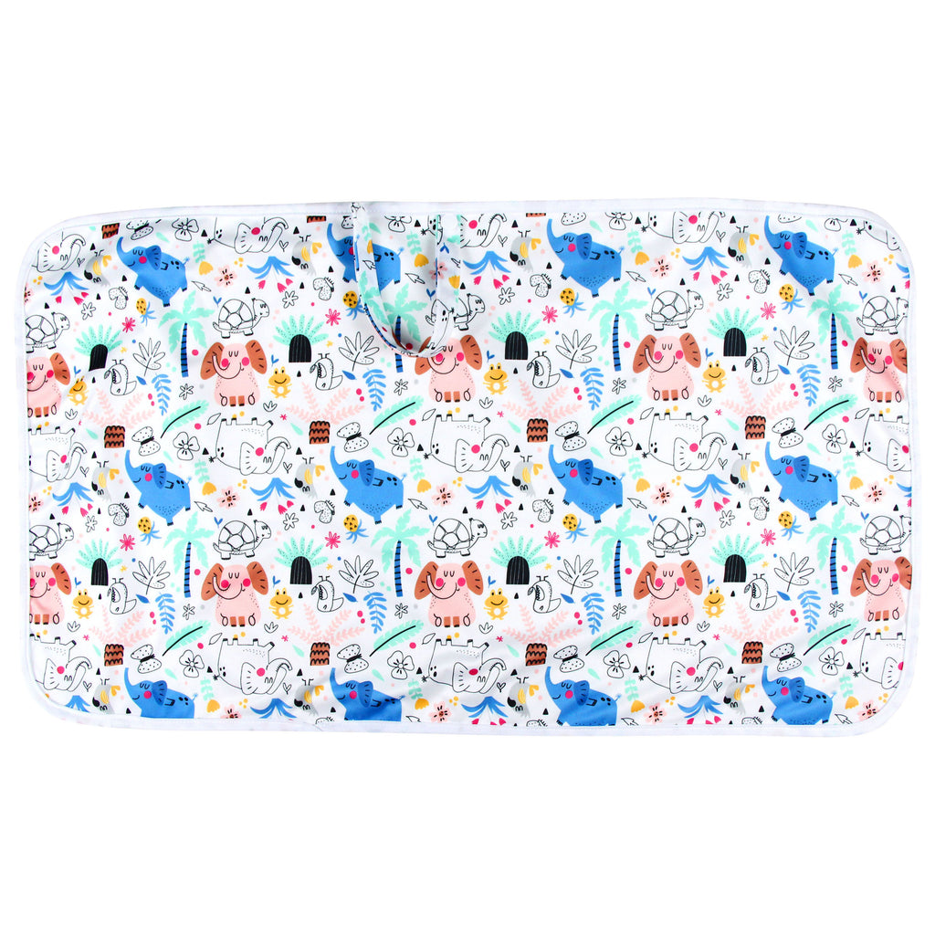 Portable Waterproof Baby Change Mat — Lively Zoo Fun