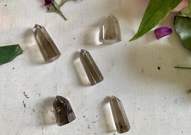 Smokey Quartz Polished Points