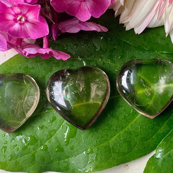 Smokey Quartz Carved Heart