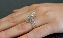 Load image into Gallery viewer, Saola, An Asian Unicorn ring