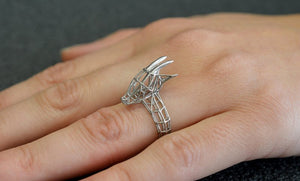 Saola, An Asian Unicorn ring