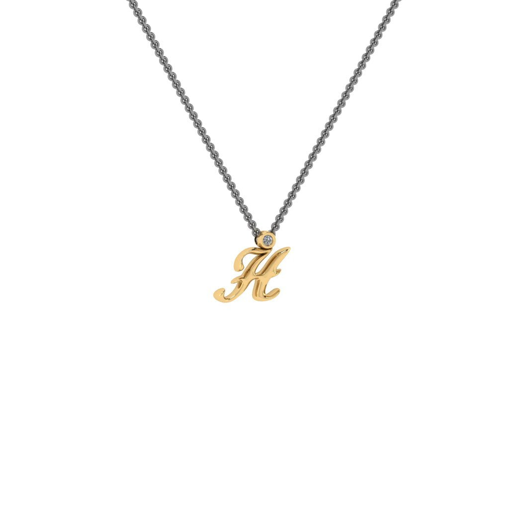 H initial gold
