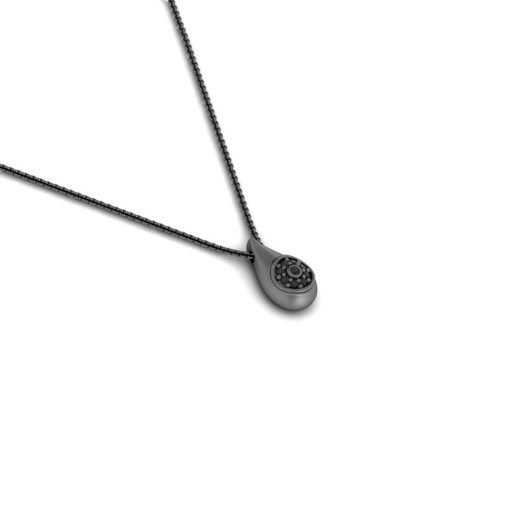 drop pendant black