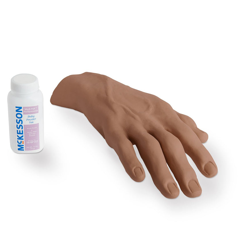 Right IV Hand Replacement Skin  Black