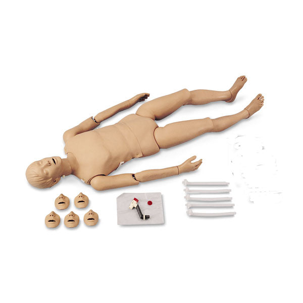 Full Body Cpr/Trauma Manikin With Electronic Console Box