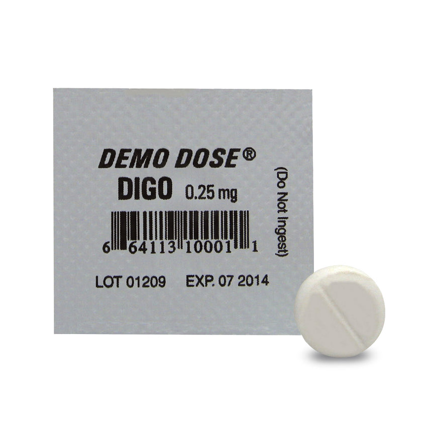Demo Dose® Oral Medications - Digo - 0.25 mg