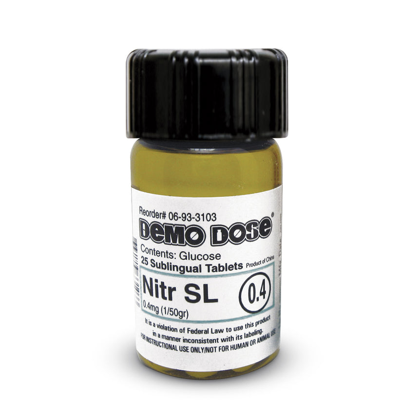 Demo Dose® Nitr SL 0.4 mg