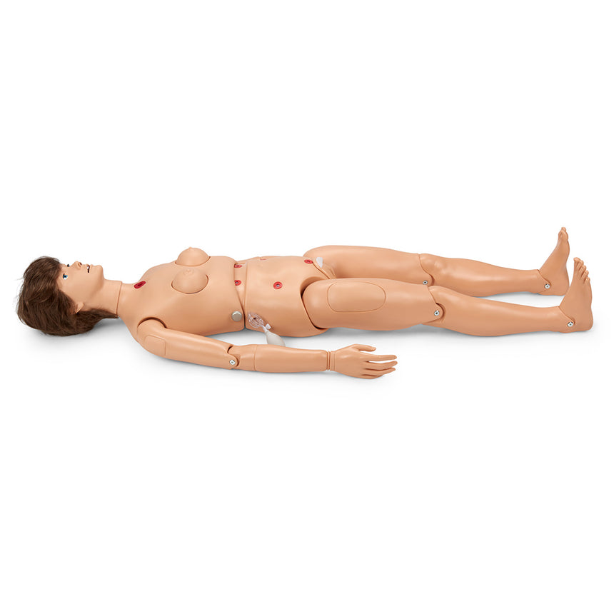 Gaumard® Multipurpose Patient Care and CPR Pediatric Simulator - 1-Year-Old Manikin - Dark