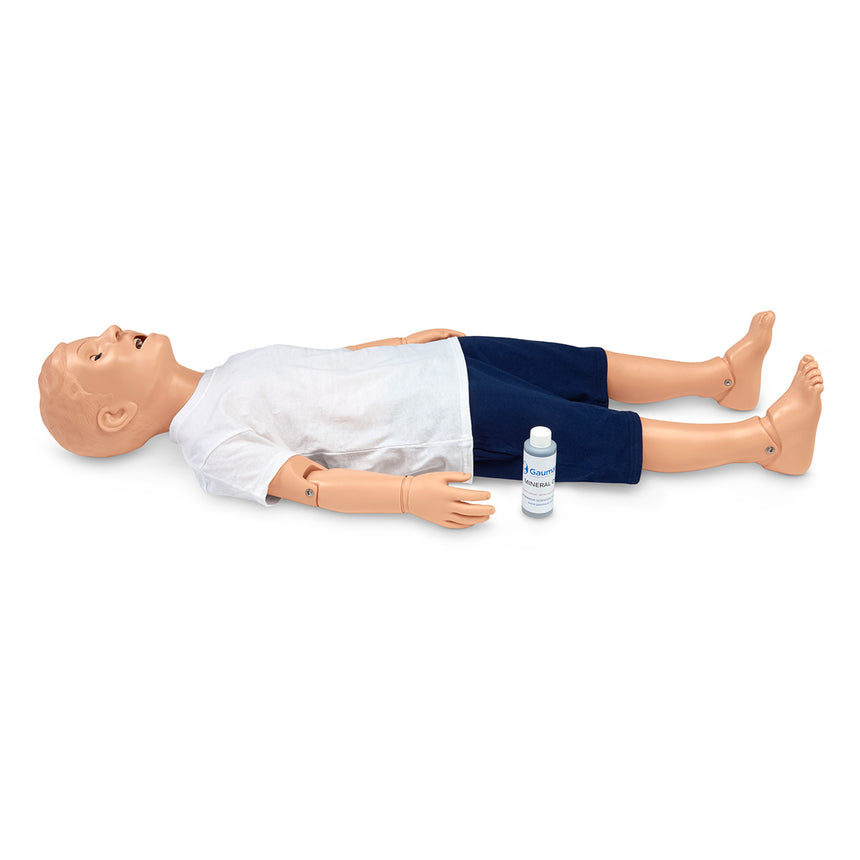 Gaumard® Mike® and Michelle® Pediatric Care Simulator - 5-Year-Old - 44 in. L - Light