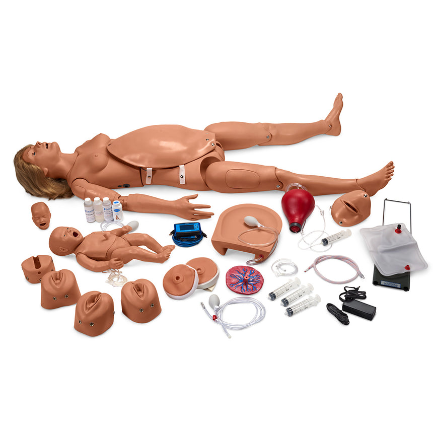 Life/form® Deluxe Plus  CRiSis™  Auscultation Manikin with Advanced Airway Management, CPR Metrix, and iPad®*