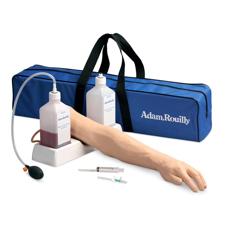 Life/form® Advanced Venipuncture and Injection Arm with IV Arm Circulation Pump - Dark Arm