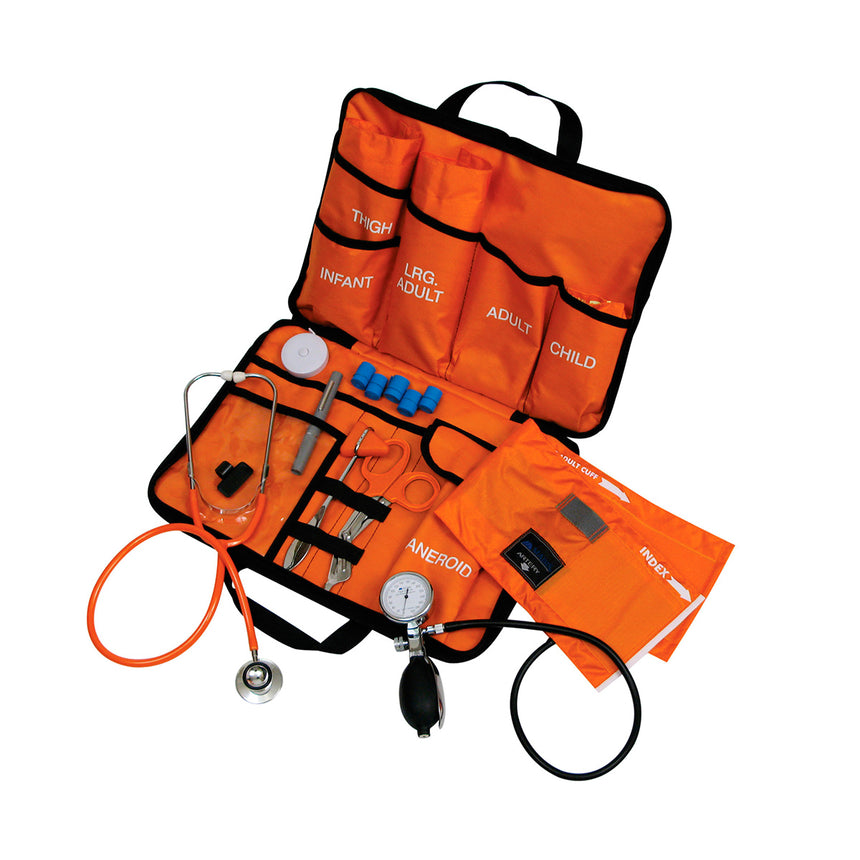 All-in-One EMT Kit with Dual-Head Stethoscope