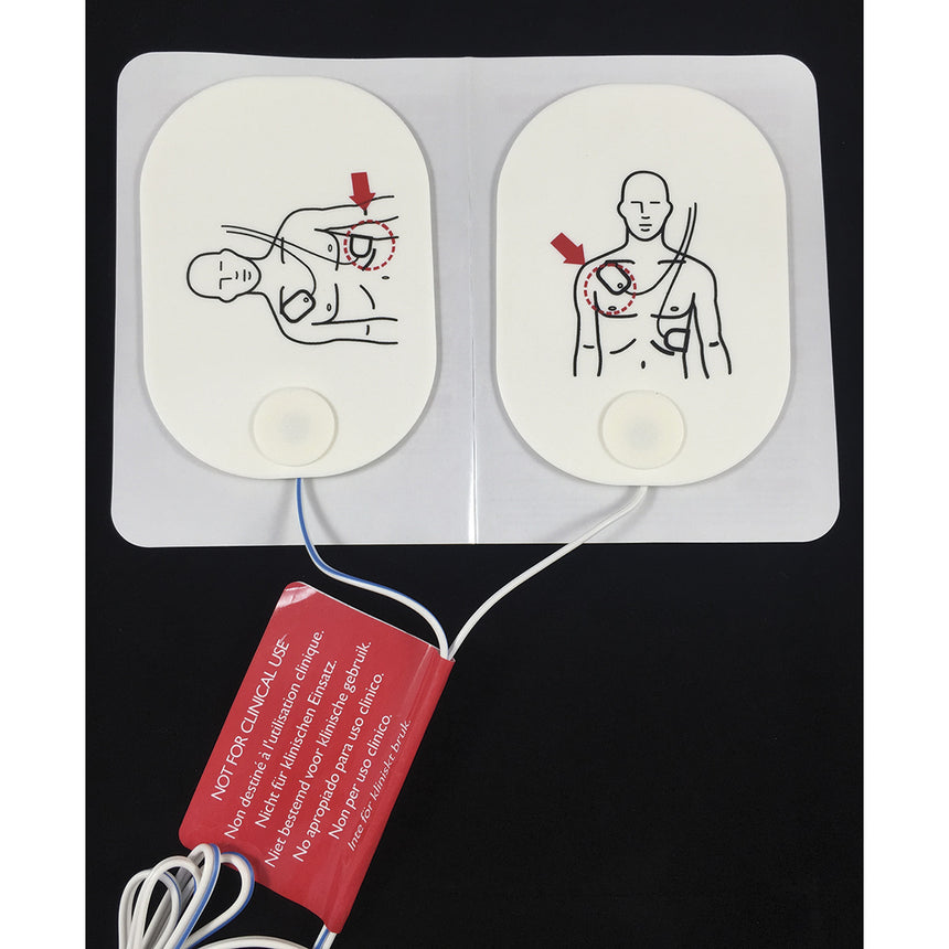 Adult AED Training Pads  With USB Connector