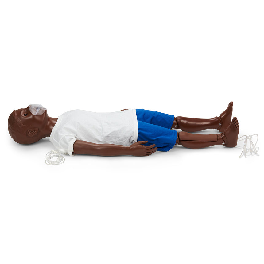 Gaumard® Advanced 5-Year-Old CPR and Trauma Care Simulator - Dark
