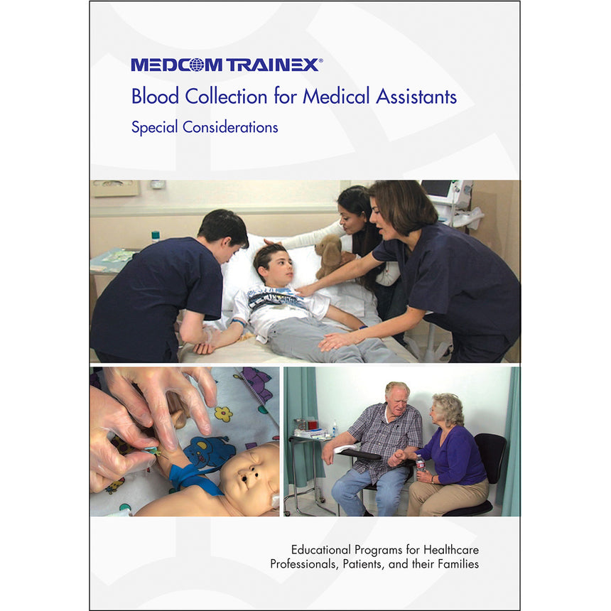 Blood Collection for Medical Assistants Series: Special Considerations DVD