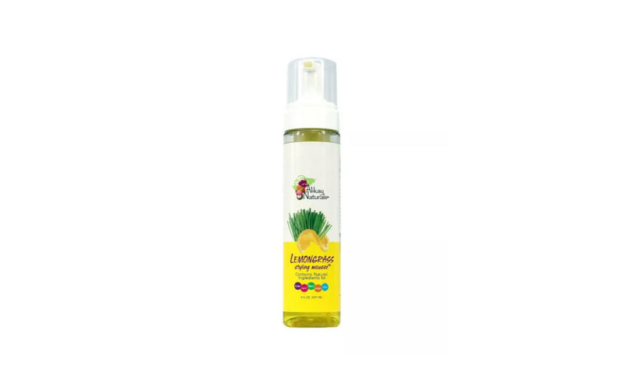 Alikay Naturals Lemongrass Styling Mousse - 8oz