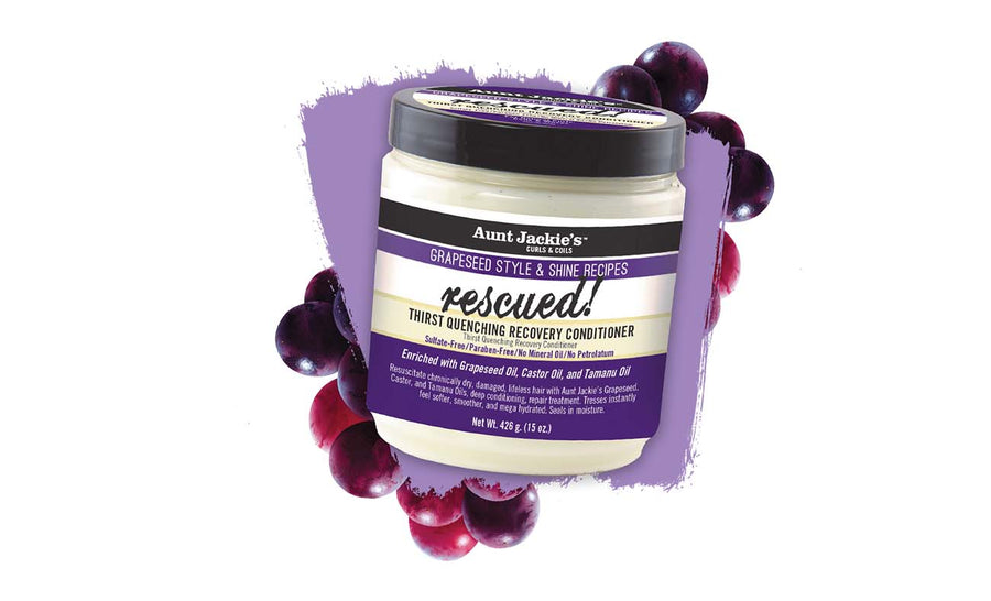 Aunt Jackie's Grapeseed Rescued Thirst Quenching Recovery Conditioner - 15 oz.