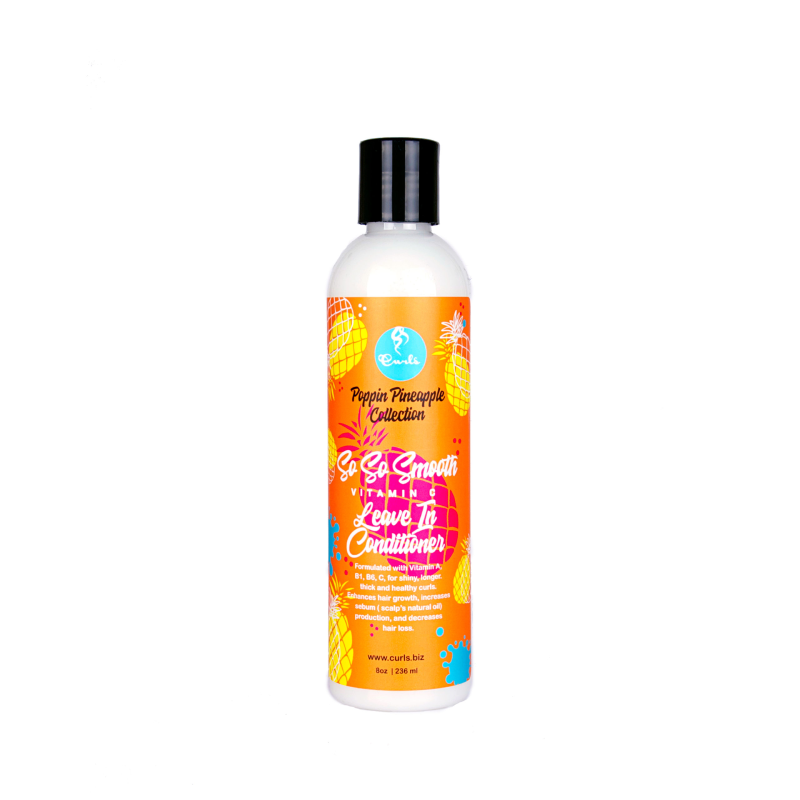 CURLS Poppin Pineapple So So Smooth Vitamin C Leave In Conditioner - 8oz