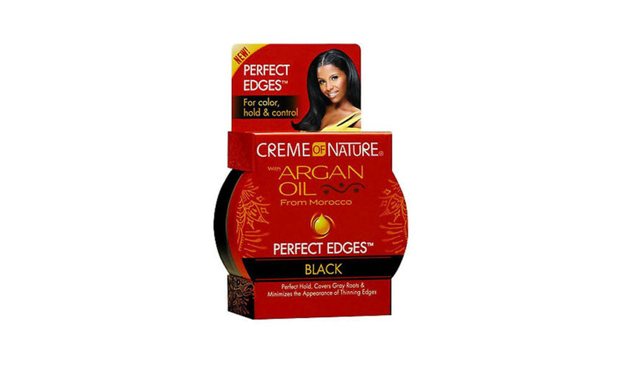Creme of Nature Argan Oil Perfect Edges Black - 2.25 oz.