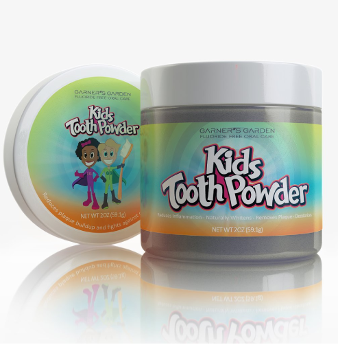 Garner's Garden Kids Tooth Powder - 2oz