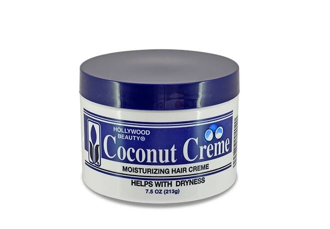 Hollywood Beauty Coconut Crème Moisturizing Hair Crème - 7.5 oz.