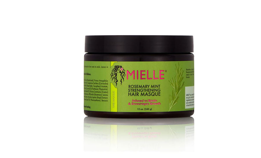 Mielle Rosemary Mint Strengthening Hair Masque - 12 oz.