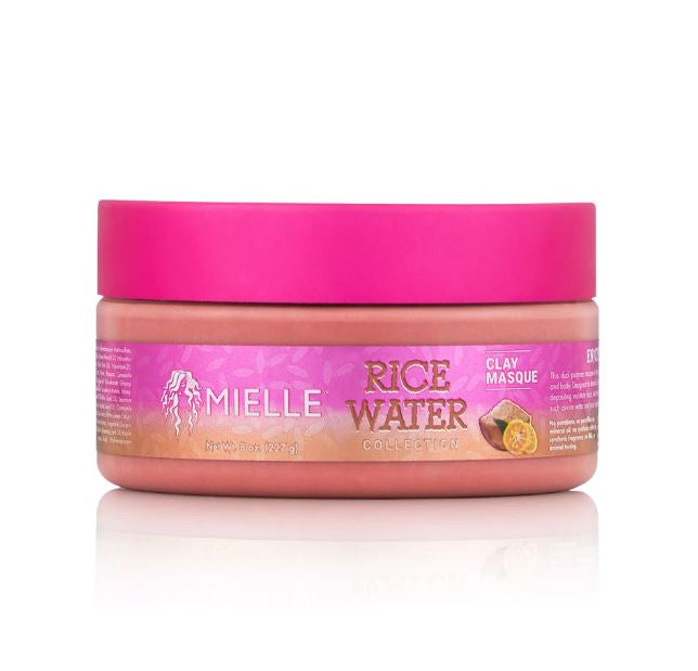 Mielle Rice Water Clay Masque - 8 oz.