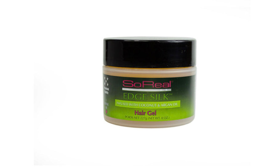 So Real by Toniez Edge Silk Coconut & Argan Oil Hair Gel - 8 oz.