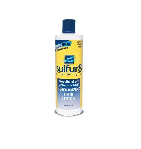 Sulfur8 Fresh Medicated Anti-Dandruff Moisturizing Hair Lotion - 12 oz.