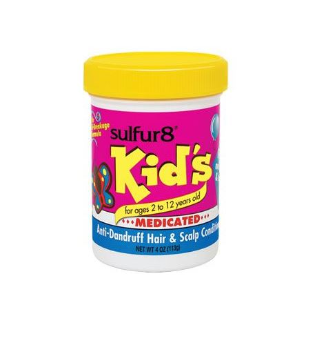 Sulfur8 Kids Medicated Anti-Dandruff Hair & Scalp Conditioner - 4 oz.