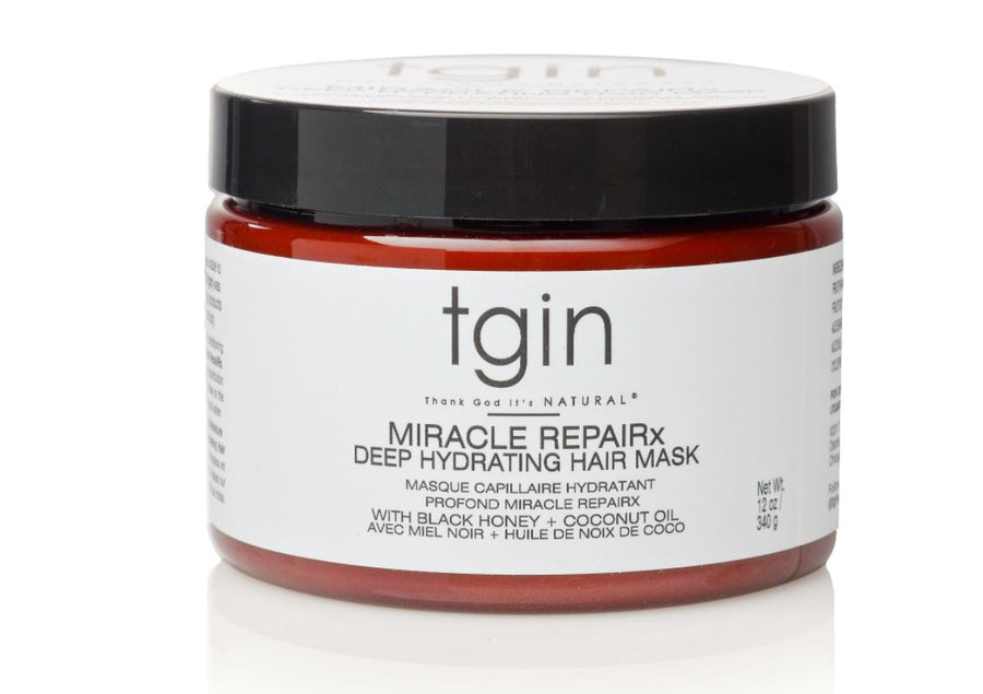 TGIN Miracle RepaiRx Deep Hydrating Hair Mask - 12 oz.