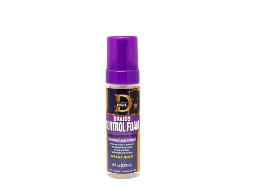 The Roots Naturelle Diamond Edges Black Panther Braid & Cornrow Control Foam - 8 fl. oz.