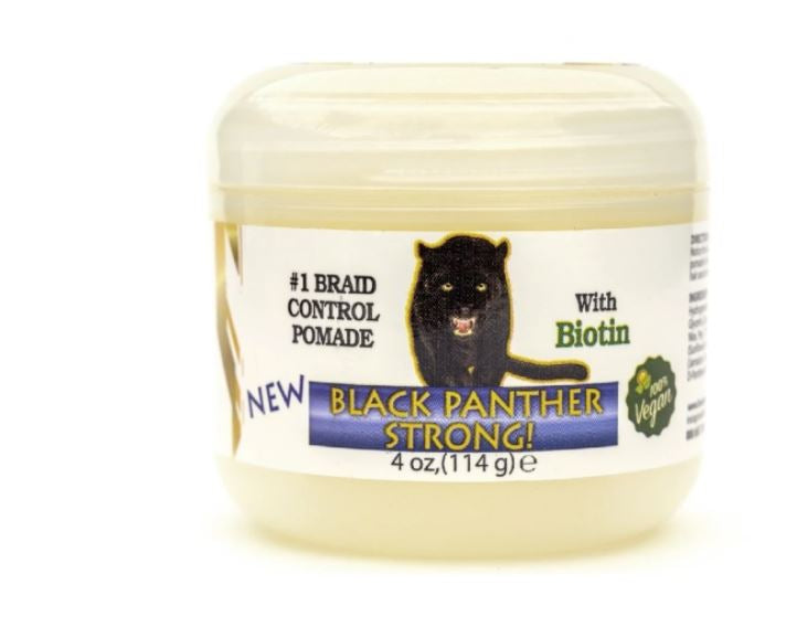 The Roots Naturelle Vegan Black Panther Strong plus Biotin Edge and Braid Control Pomade - 8 oz.