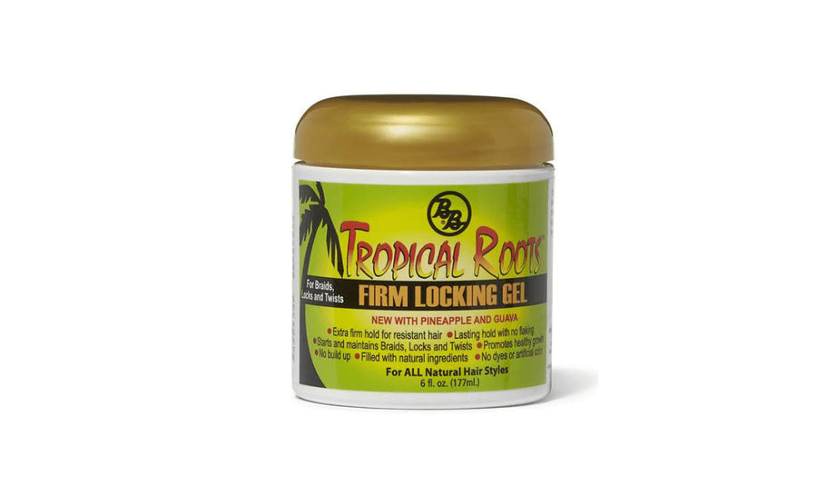 Tropical Roots Firm Locking Gel - 6oz