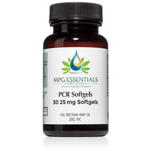 25mg 30ct PCR Soft Gel Capsules
