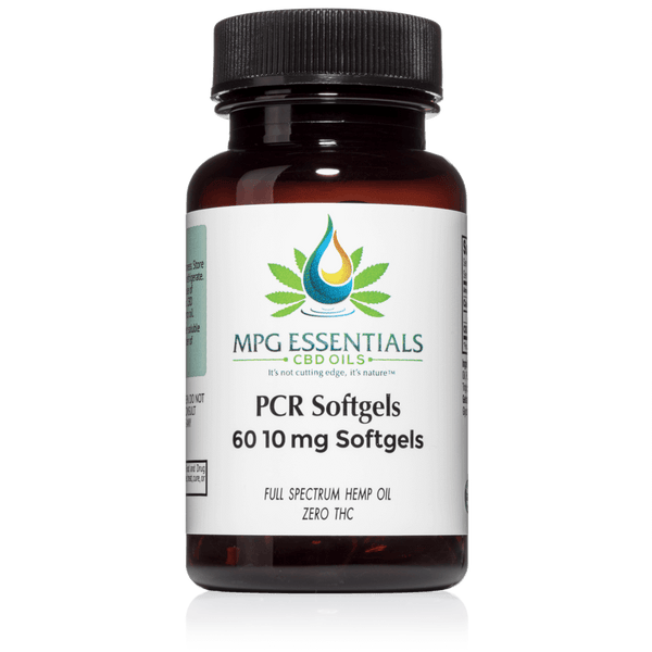 10mg PCR Soft Gel Capsules