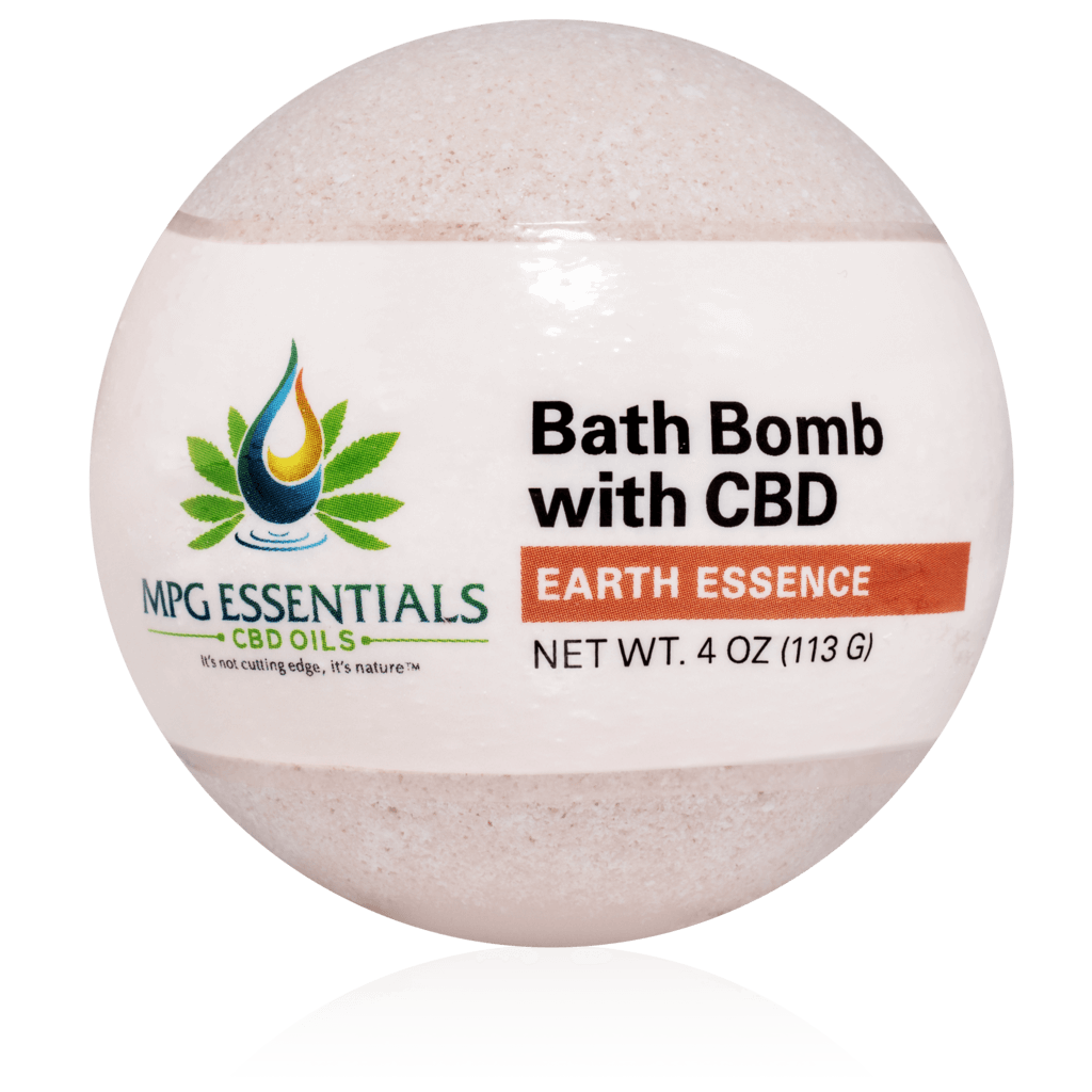 Earth Essence CBD Bath Bomb