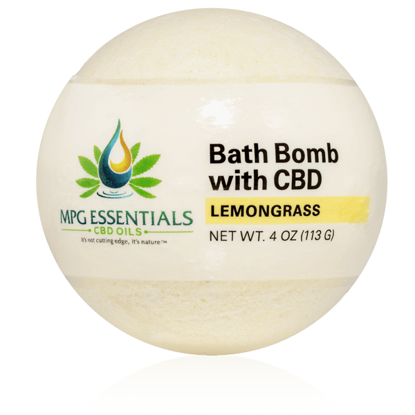 Lemongrass CBD Bath Bombs