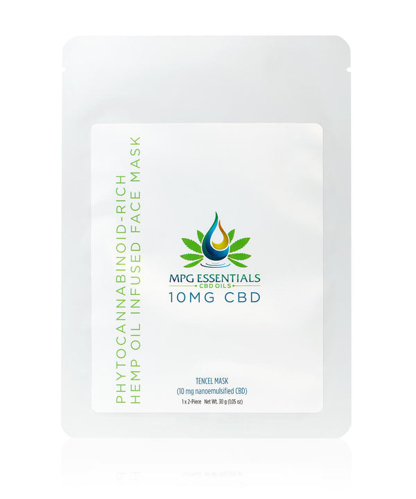 Hemp Oil Infused Face Mask