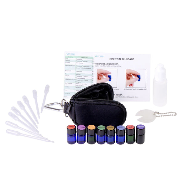 Viola Essentials Personal Health Care Kit (Black)