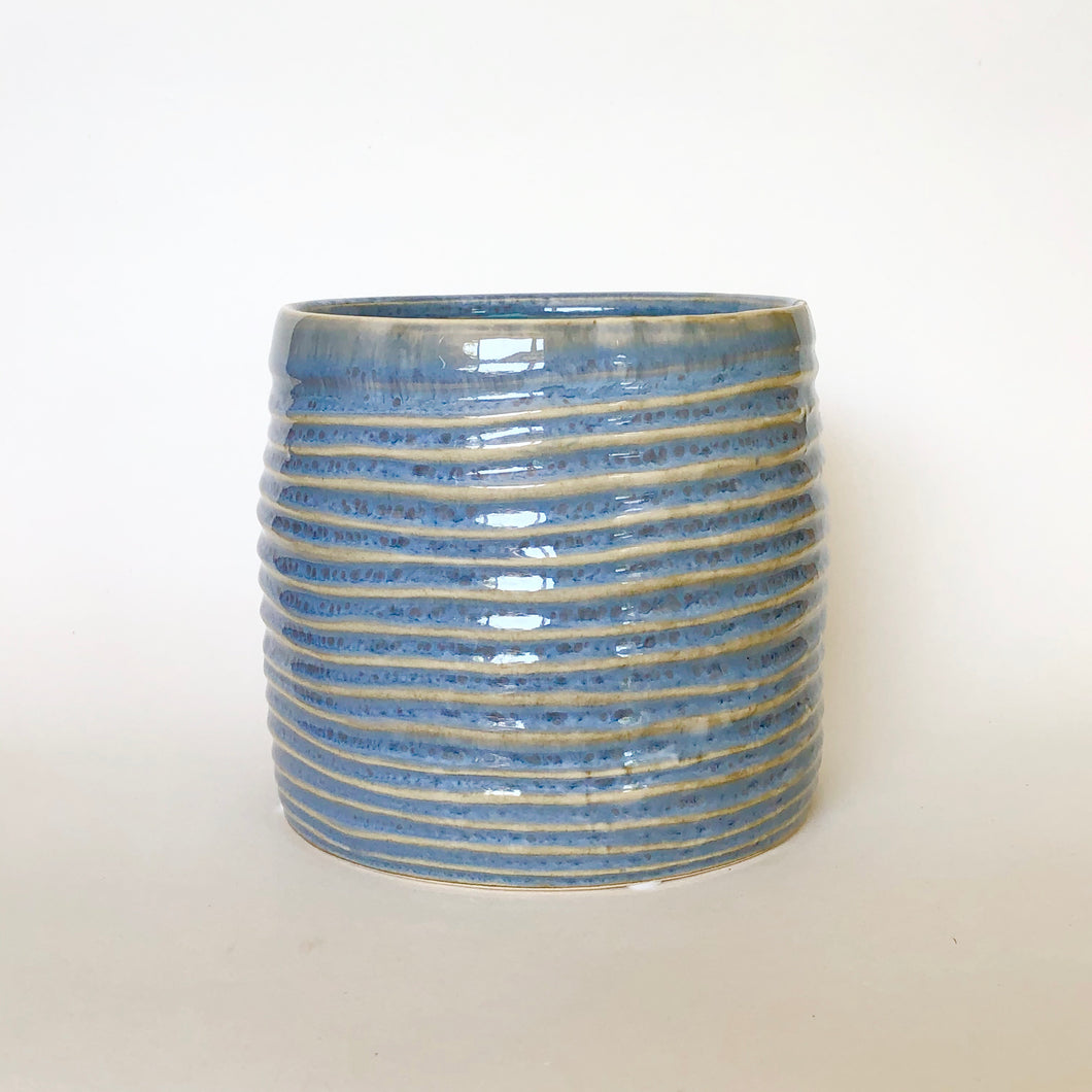 Aquamarine Glazed Pot