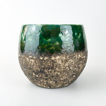 Load image into Gallery viewer, Green Black Glazed Boule