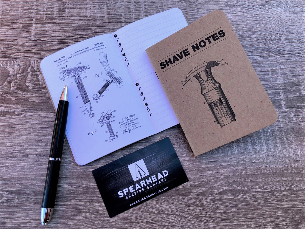 Introducing Shave Notes - Shave of the Day Notebooks