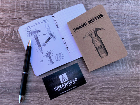 Shave Notes - Wet Shaving Journal (Single)