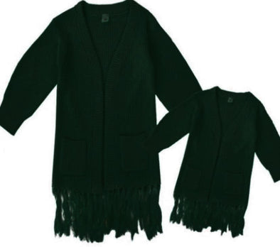 Forest Green Cardigans Mommy and Me - Happily Ella After