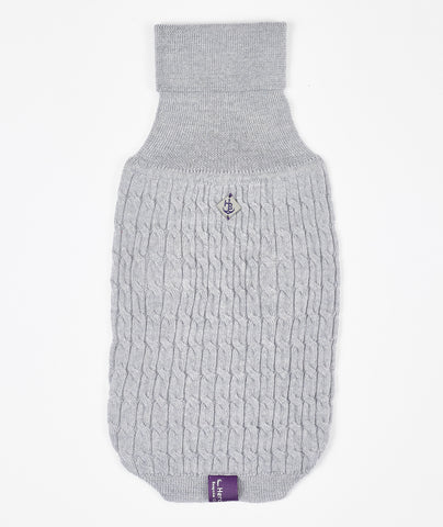 Light Grey Luxury Wool Jumper - Hercabella
